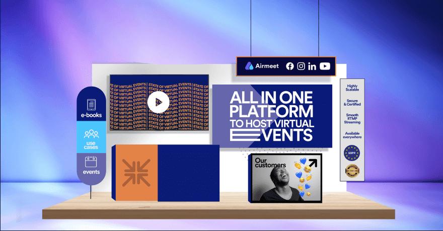 โปรแกรมประชุมออนไลน์ ยอดนิยม Airmeet จัด Virtual Event